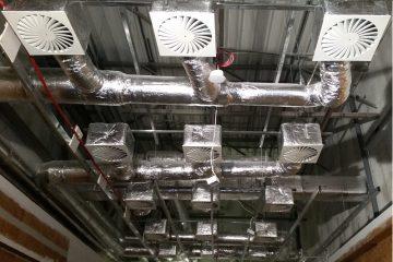zamontowana instalacja wentylacji